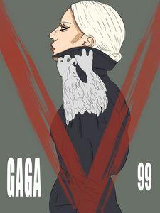 Lady Gaga V Magazine 99
