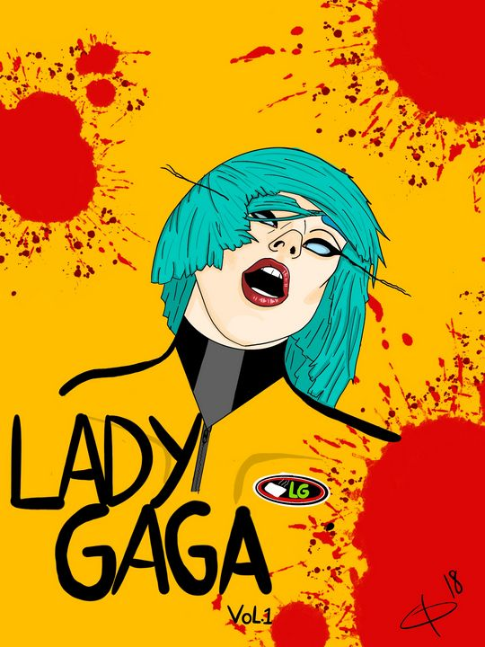 Gaga x Kill Bill - Clayton Daugherty