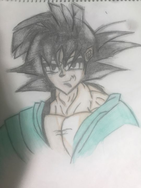 Goku (coloured) - Duaa