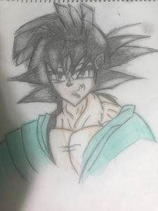 Goku (coloured)
