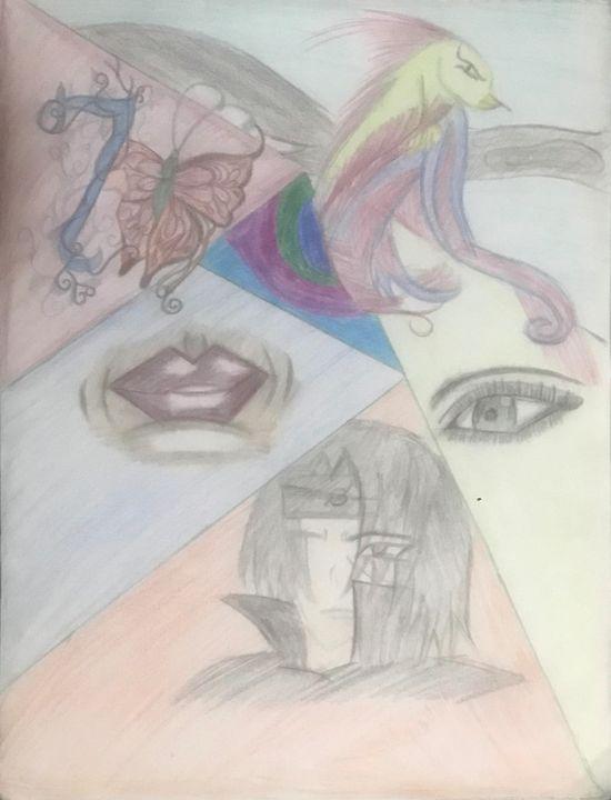 Collage of anime - Duaa