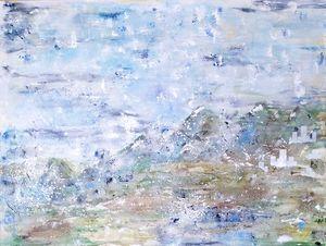 Whispering Hills, 90x120cm