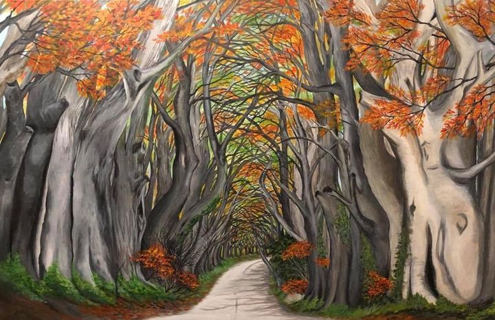 Never ending road - KathysEdgyCreations