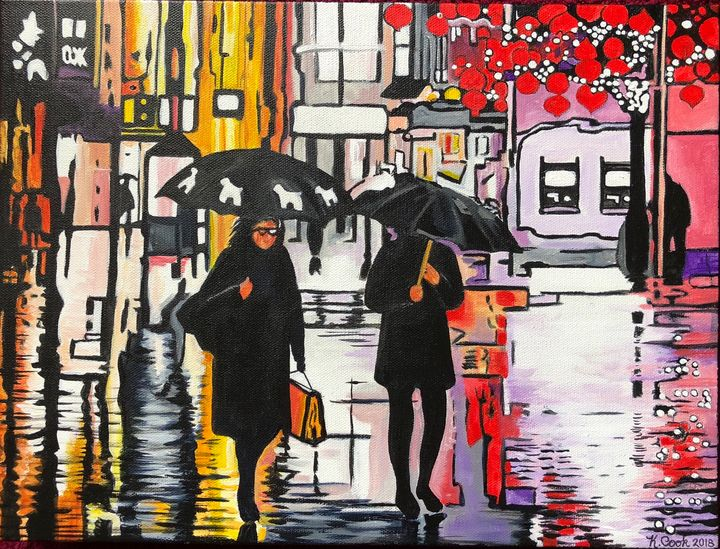 City lights - KathysEdgyCreations