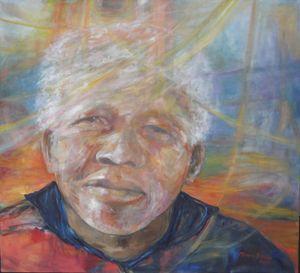 Nelson Mandela (Print)
