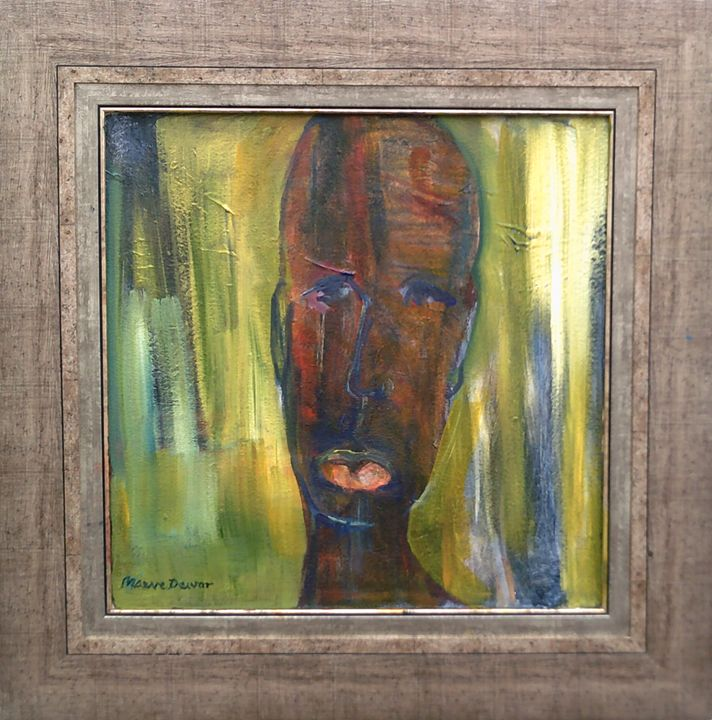 I feel Feathers - Maeve Dewar South African Artist