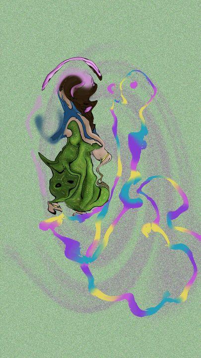 spirit dance - Art like a tree