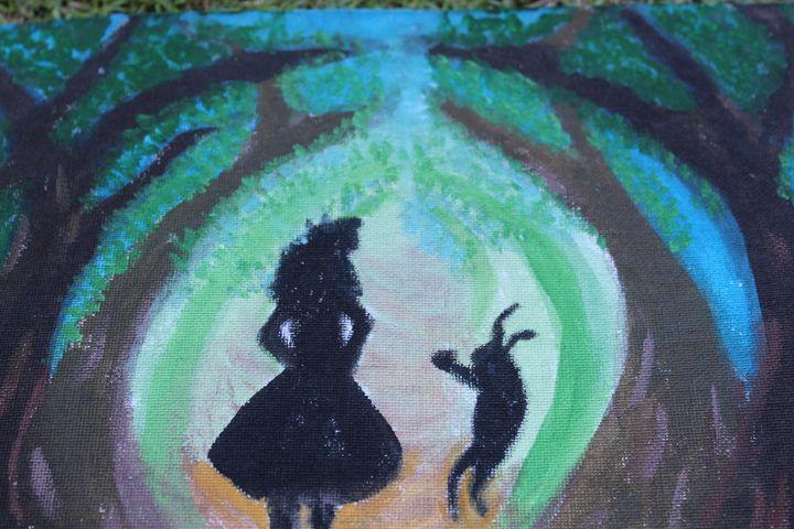 trippy alice - Art like a tree