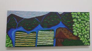 Jungle Acrylic Painting
