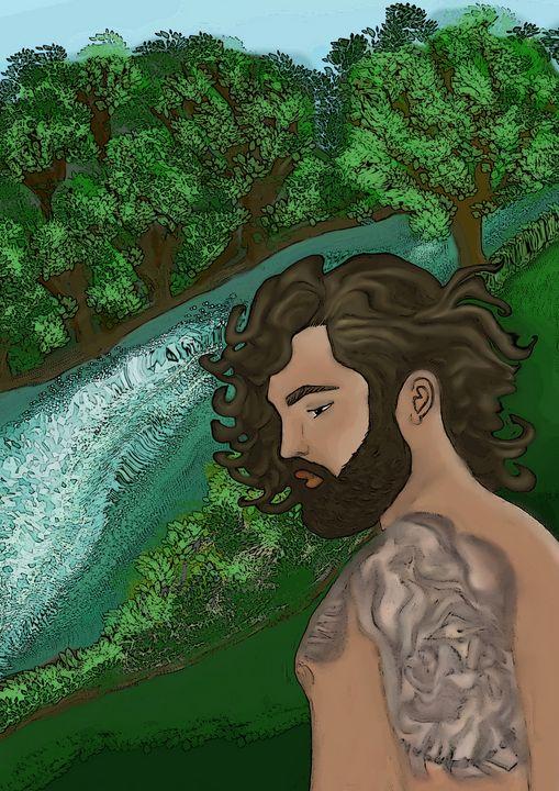 Nature guy - Art like a tree