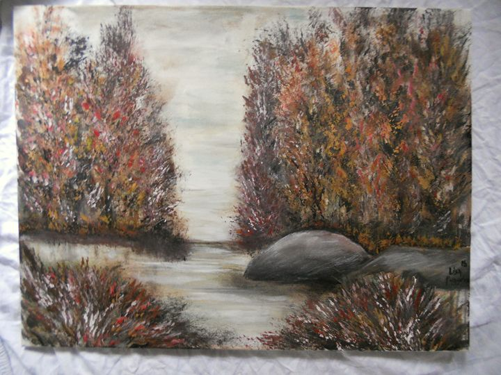 """Fall Solitude"" - DryRiver Carvings and Art"