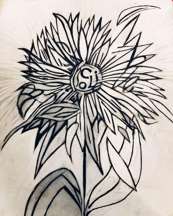 Sunflower - YaBeachgrl.art
