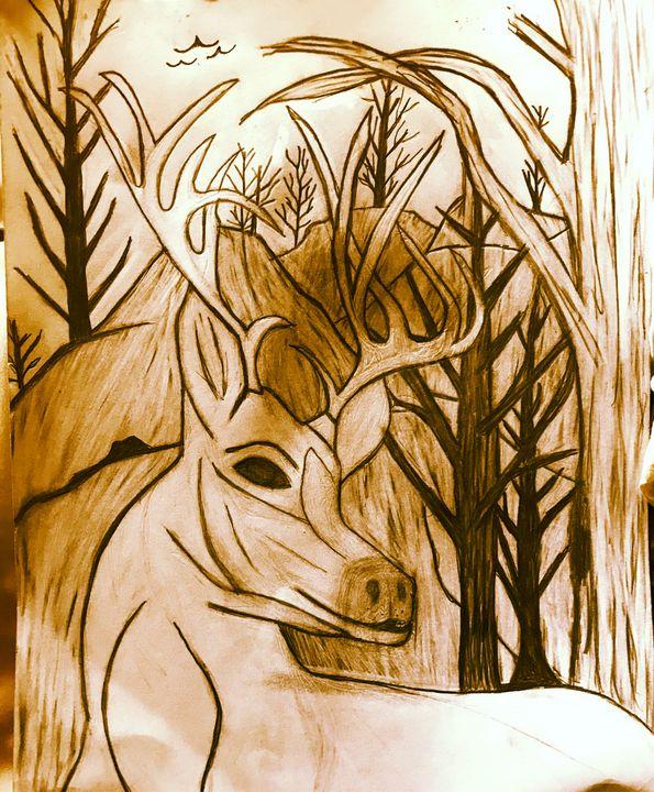 Deer - YaBeachgrl.art