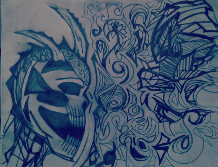 Anxiety chaos - YaBeachgrl.art