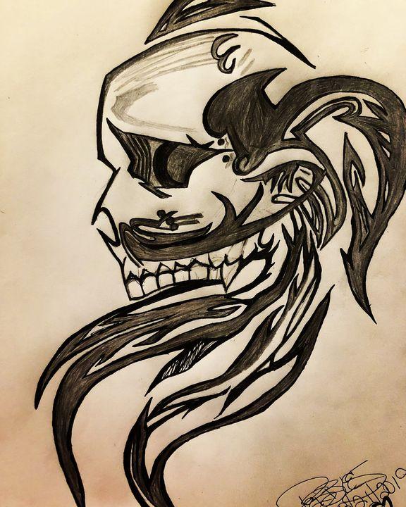 Skull - YaBeachgrl.art