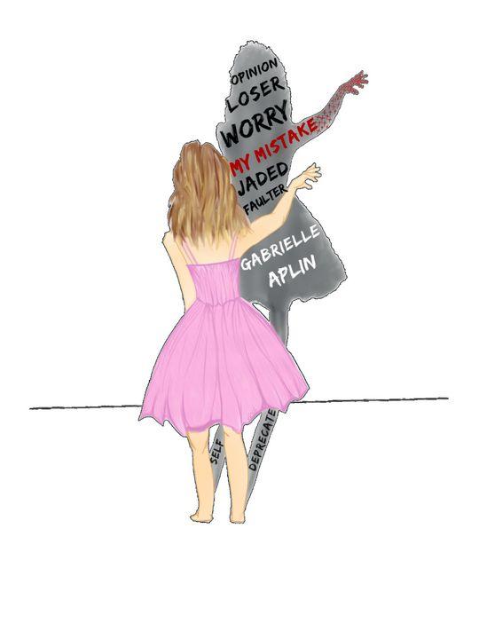 Gabrielle Aplin My Mistake Album Art - Vrsh Art Studio