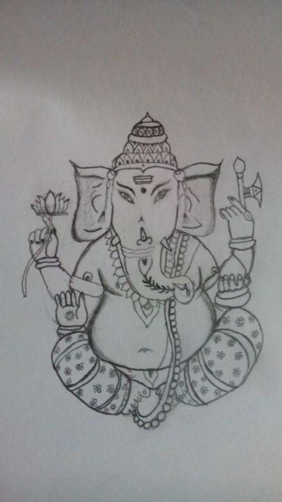 LORD GANESH -  Karthikqk95