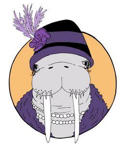 Aristocrat Walrus Lady