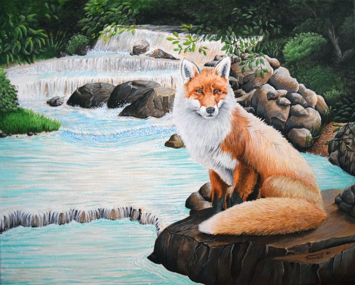 Tranquil Fox - Foxwell Graphics and Design
