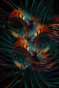Reverie. Fractal Abstract