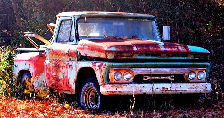Rusty Old Truck - Cramer Design Studio