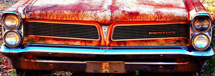 Old Rusty Pontiac - Cramer Design Studio