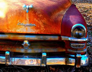 Old Chrysler Rusted