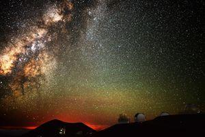 Stargazing atop Mauna Kea