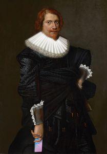 ''Portrait of a man'' Diego Velazque