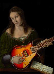 """''Guitar Lady""""' Bartolomeo Veneto"""