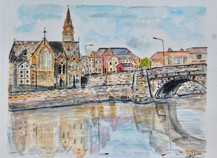 Dublin Reflections - MukulArts