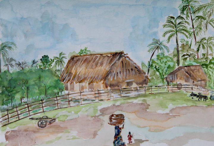 The Indian village - MukulArts
