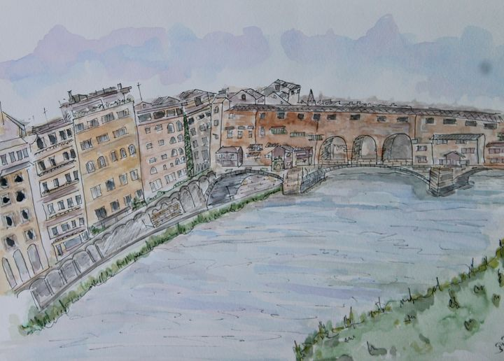 Florence by the river - MukulArts