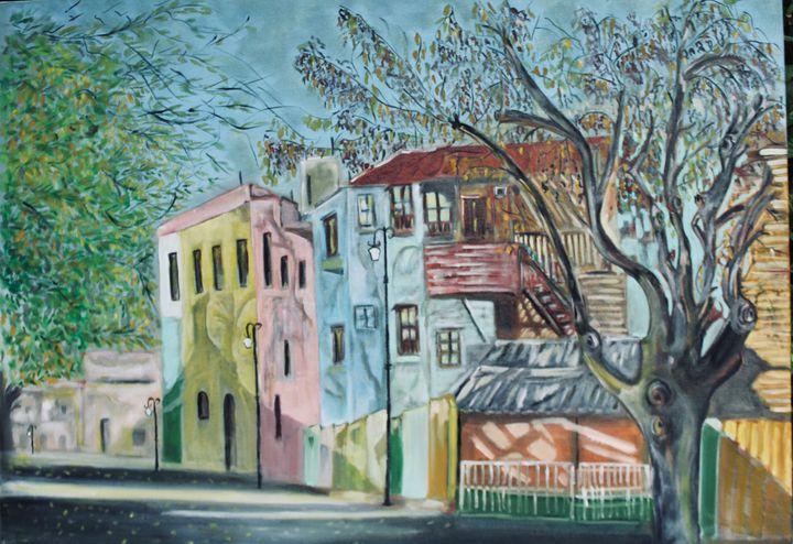 Colourful Street - MukulArts