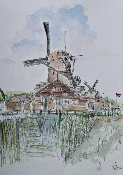 Windmill - MukulArts