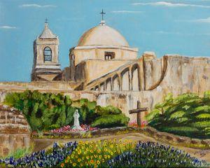 San Antonio Missions - Lidu's Arts