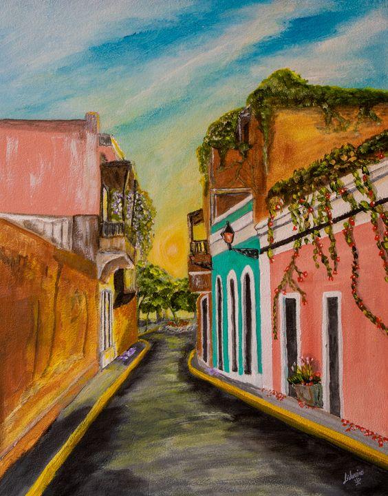 Around the Corner - Lidu's Arts