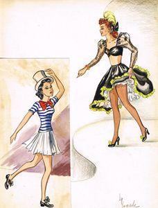 Toe-tapping Twosome (circa 1938)