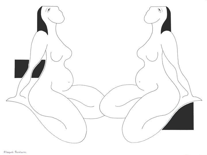 Les rimes féminines - Hildegarde Handsaeme