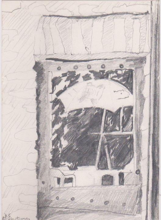 Window Reflection France 86 87 - Ivyemaye