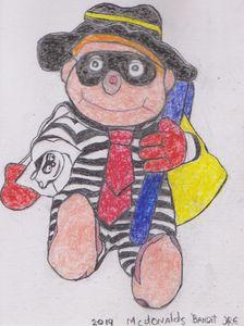 McDonald's Bandit  Toy