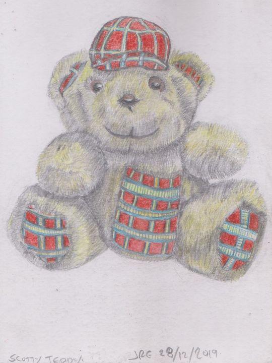 Scotty Teddy Bear - Ivyemaye