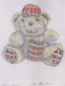 Scotty Teddy Bear