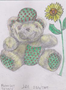 Polka Dot Teddy Bear