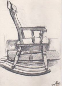 Rocking Chair, Paris, 1990