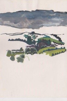 Minimal French Landscape 1983 - Ivyemaye