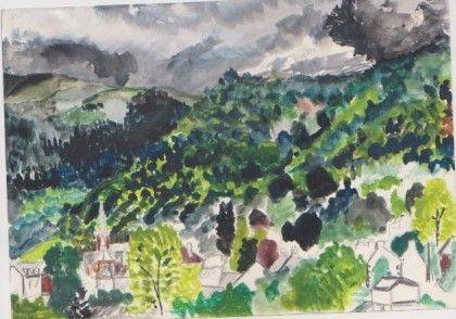 French Landscape 1980s - Ivyemaye