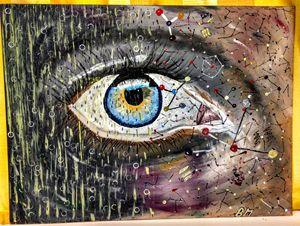 Eye of a dormant neuroscientist