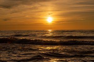 Michigan sunset, lost 2020 summer