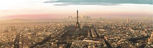Paris Panorama with real view